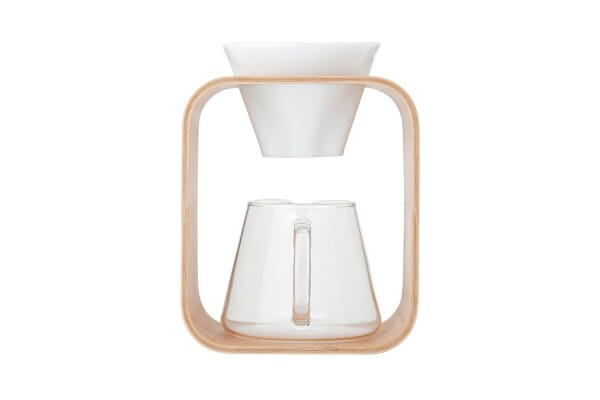 621002 / IWAKI COFFEE POT & DRIPPER SET (BARAFU) - 600ml